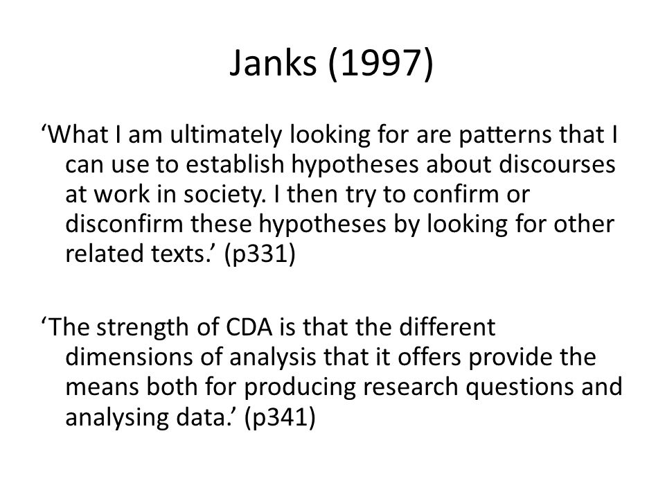 Janks (1997)