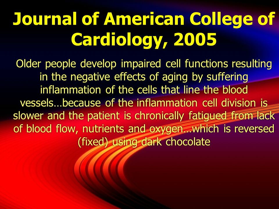 Journal of American College of Cardiology, 2005