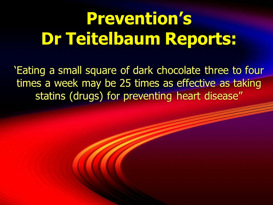 Prevention's Dr Teitelbaum Reports: