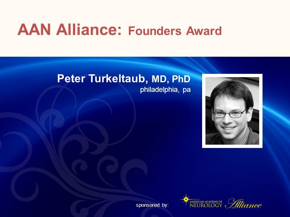 AAN Alliance: Founders Award