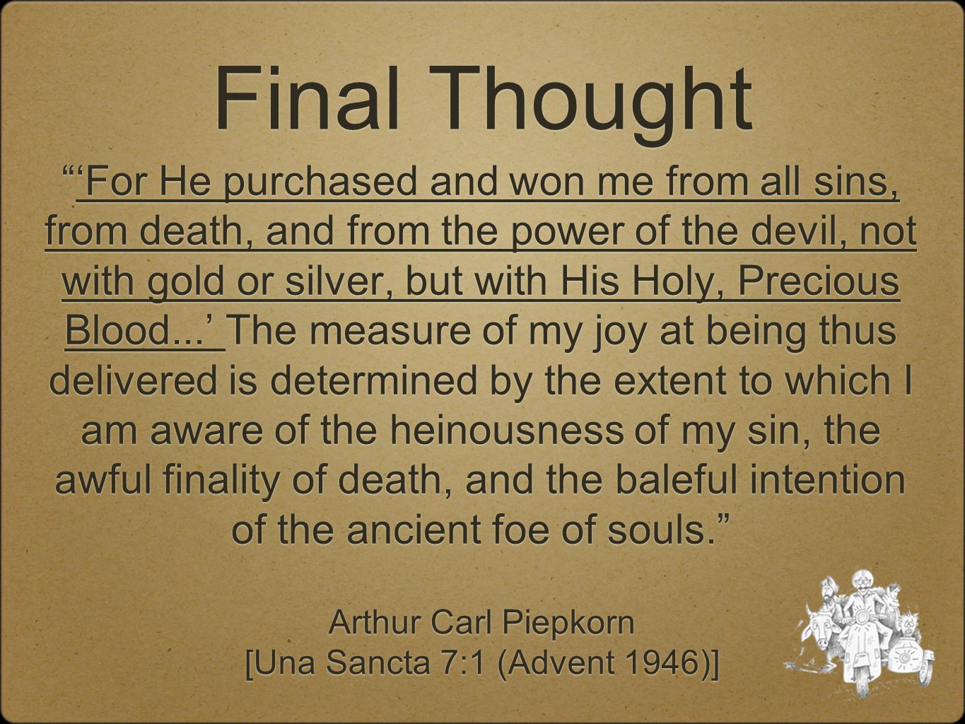 [Una Sancta 7:1 (Advent 1946)]