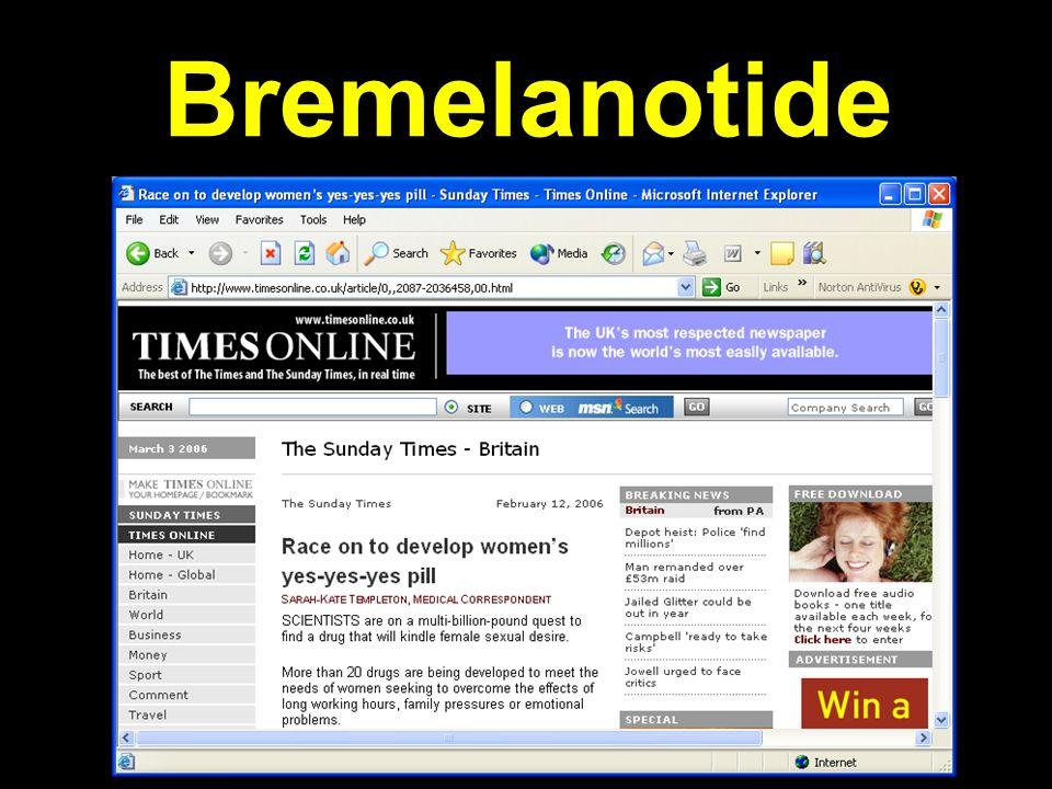 Bremelanotide