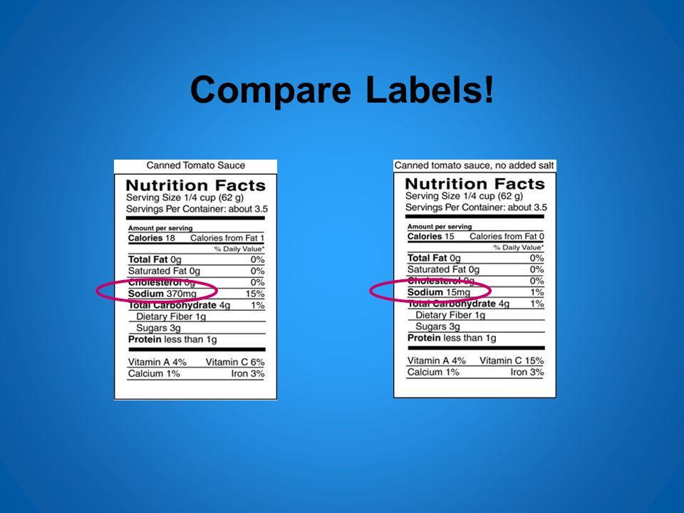 Compare Labels!