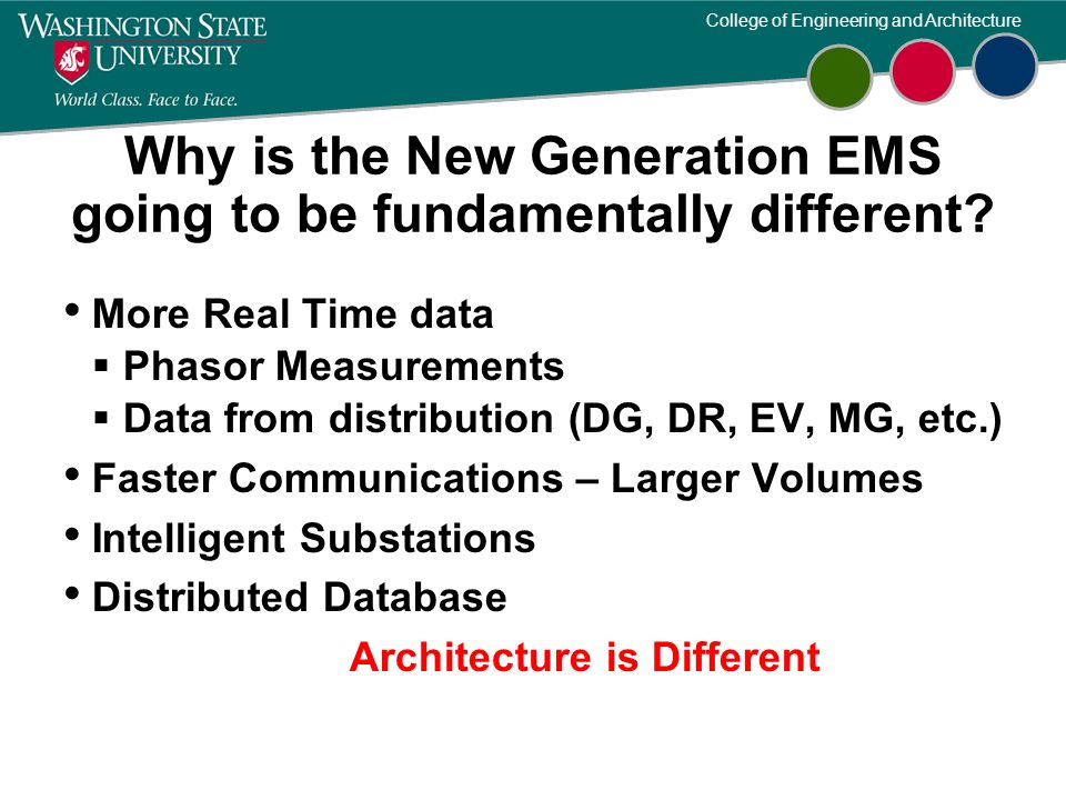 Why is the New Generation EMS going to be fundamentally different