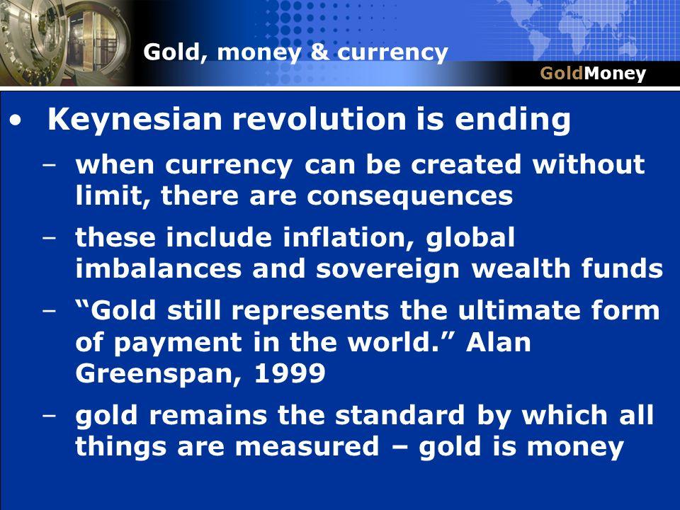 Keynesian revolution is ending