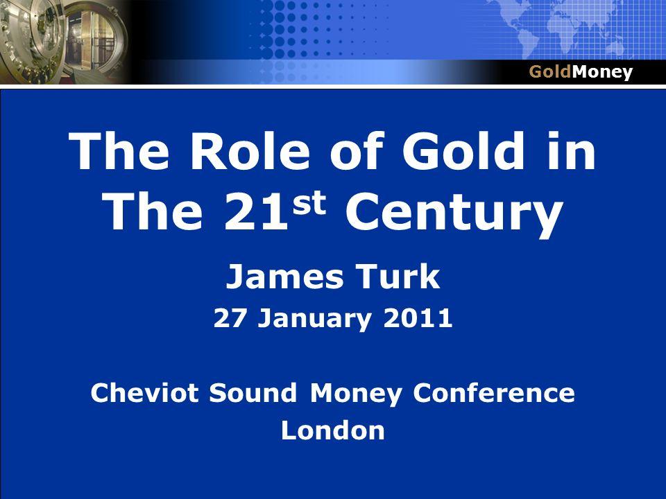 Cheviot Sound Money Conference