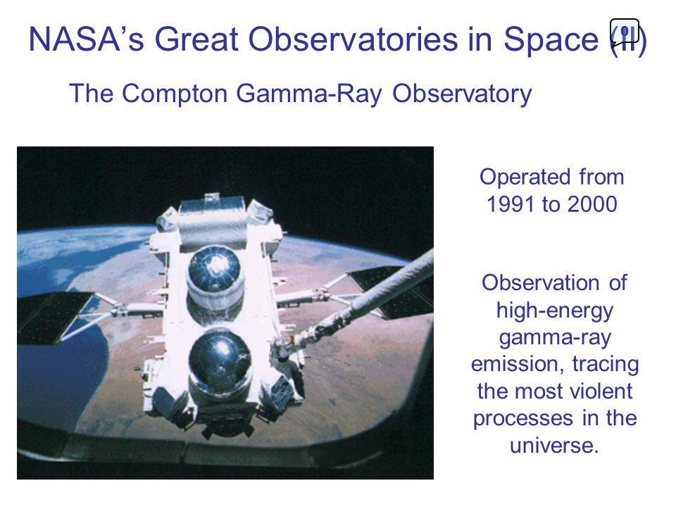NASA's Great Observatories in Space (II)