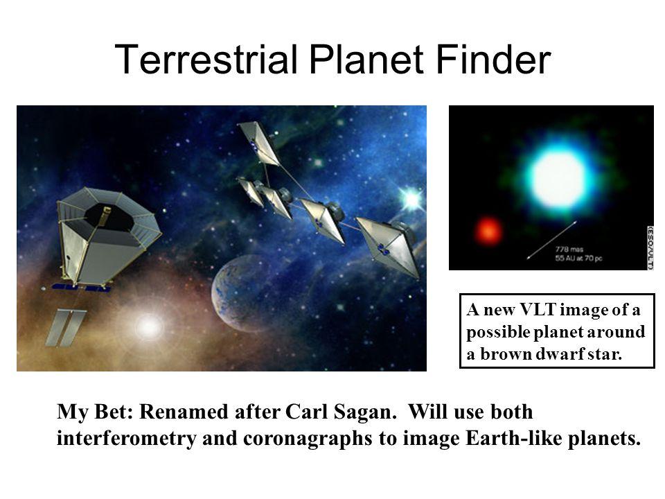 Terrestrial Planet Finder