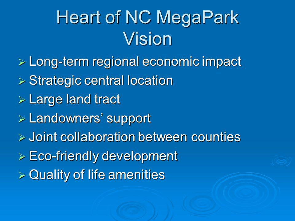Heart of NC MegaPark Vision