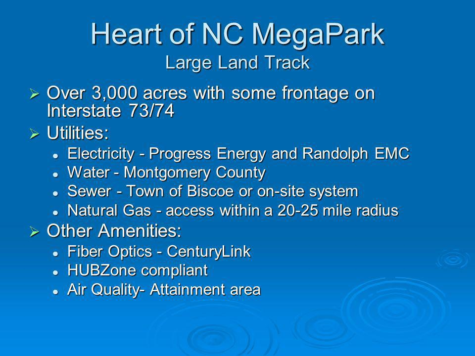 Heart of NC MegaPark Large Land Track