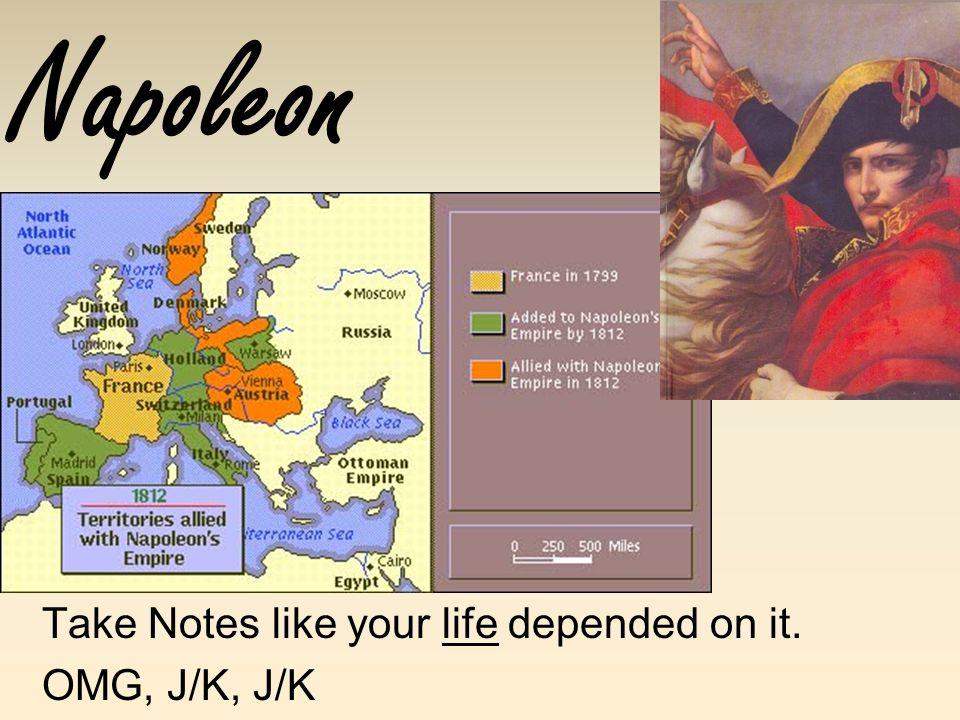 Take Notes like your life depended on it. OMG, J/K, J/K