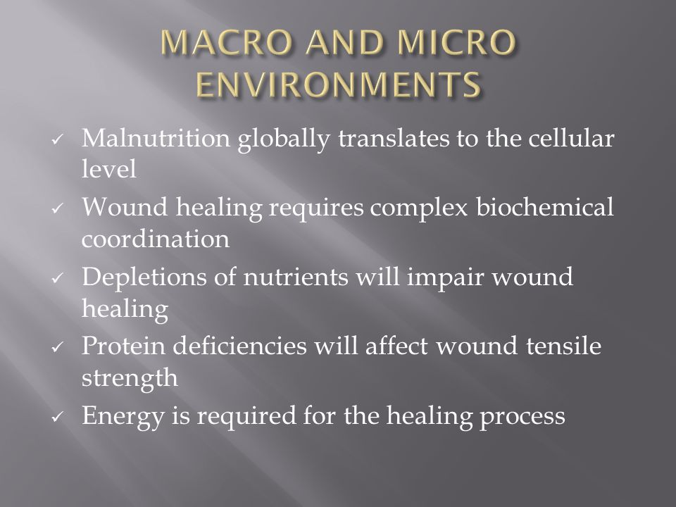 MACRO AND MICRO ENVIRONMENTS
