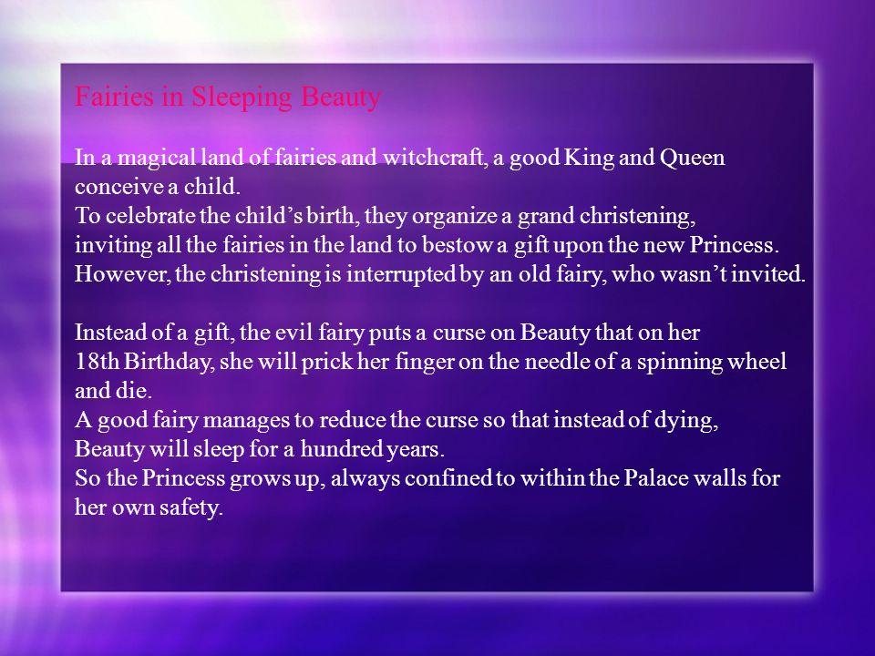 Fairies in Sleeping Beauty