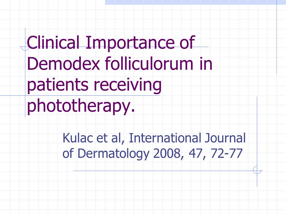 Kulac et al, International Journal of Dermatology 2008, 47, 72-77