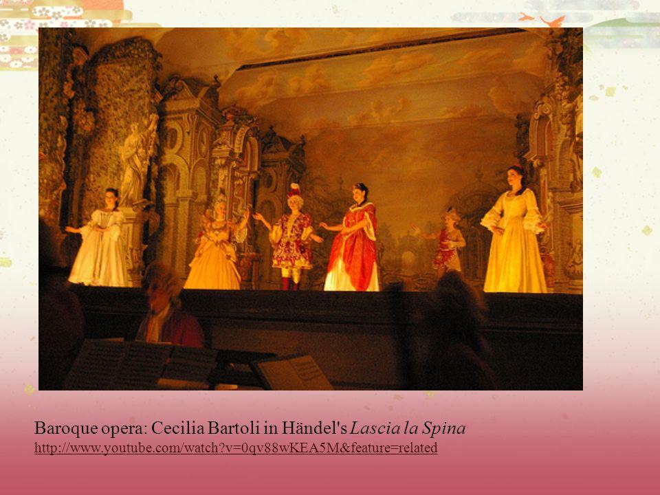 Baroque opera: Cecilia Bartoli in Händel s Lascia la Spina