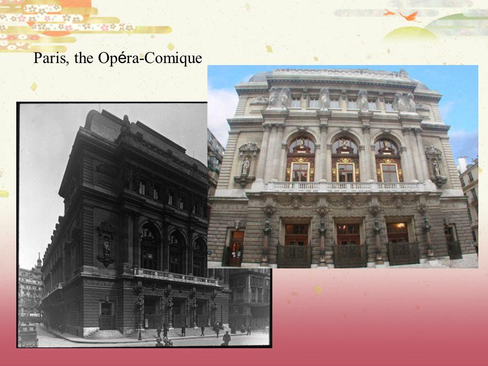Paris, the Opéra-Comique