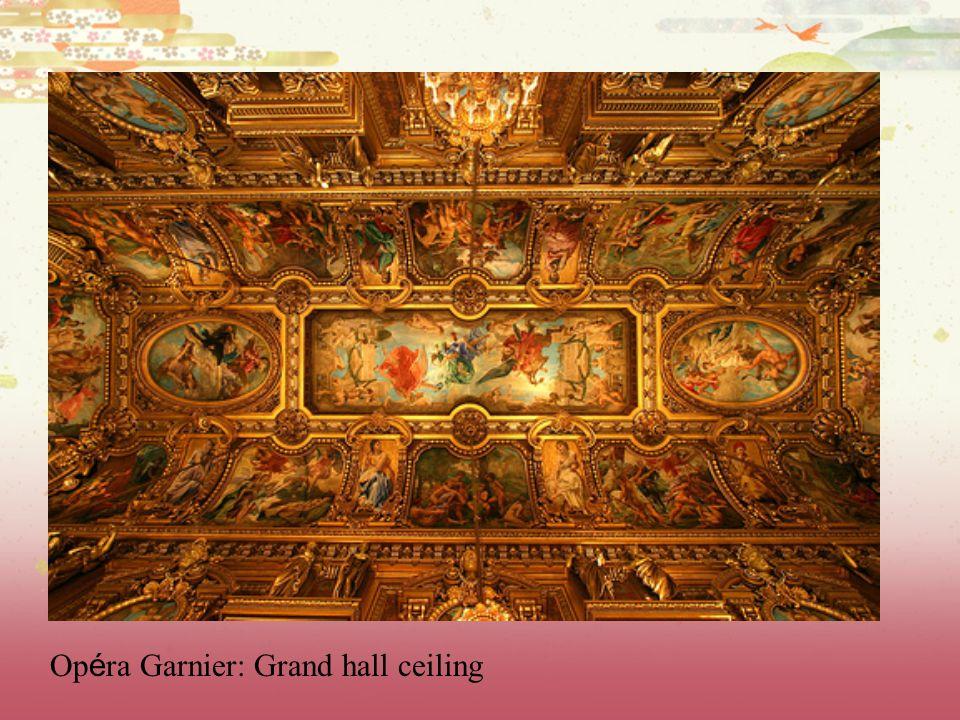 Opéra Garnier: Grand hall ceiling