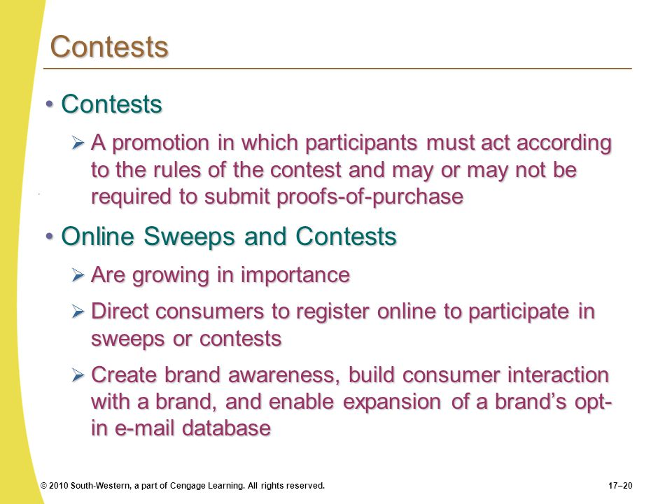 Contests Contests Online Sweeps and Contests