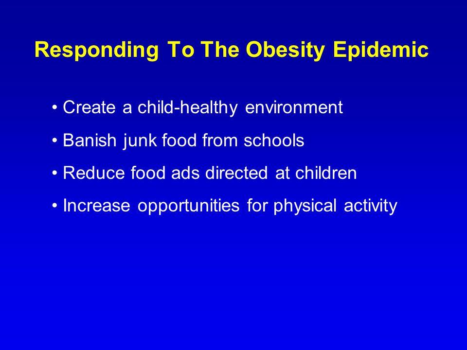 Responding To The Obesity Epidemic