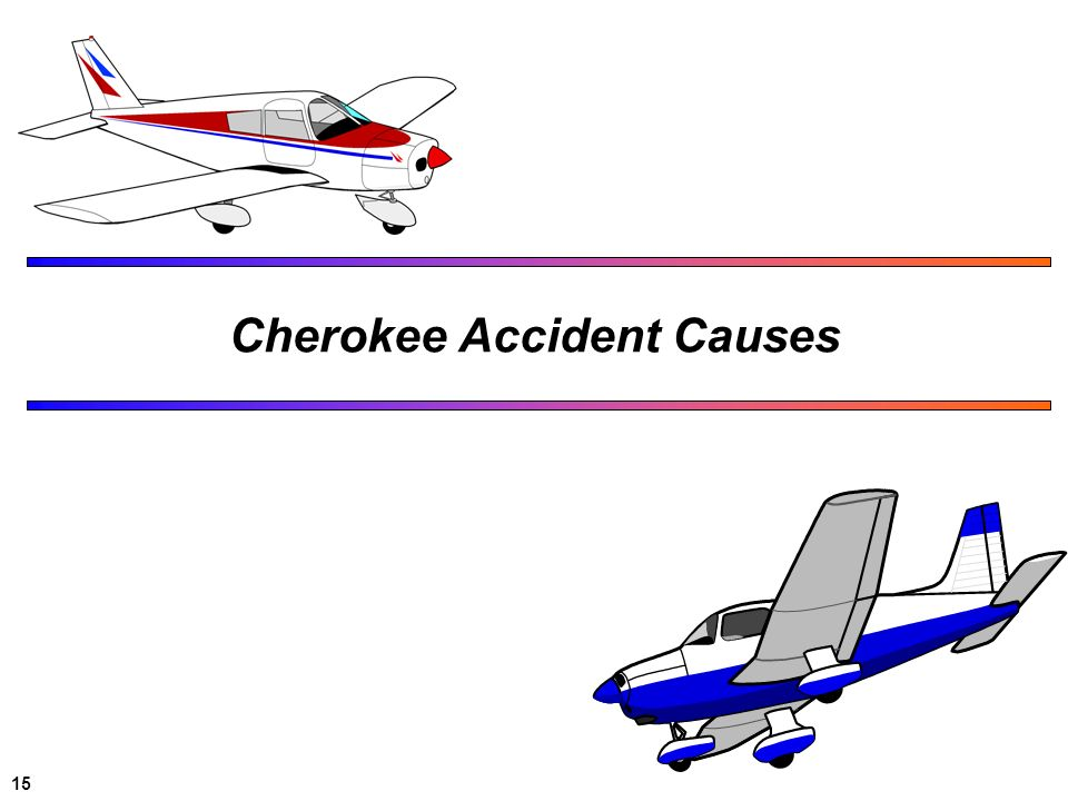 Cherokee Accident Causes