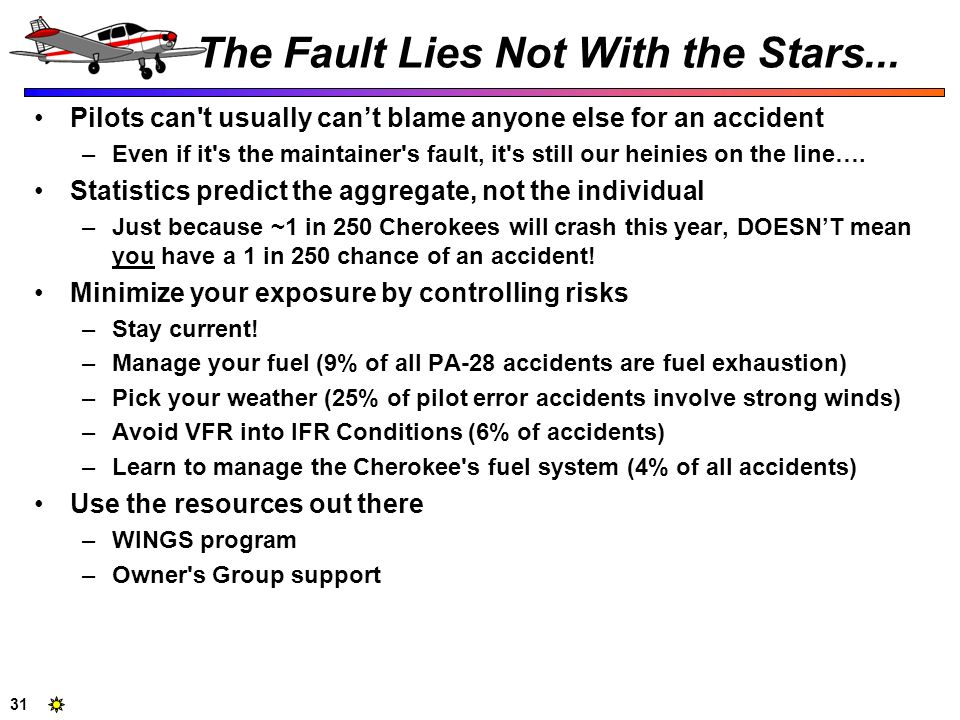 The Fault Lies Not With the Stars...