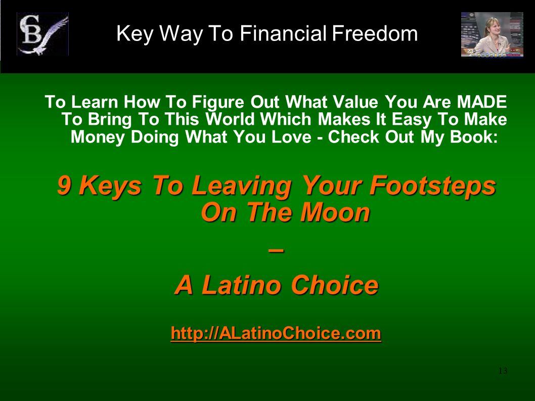 Key Way To Financial Freedom