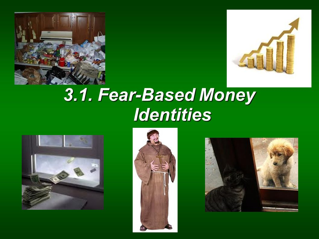 3.1. Fear-Based Money Identities