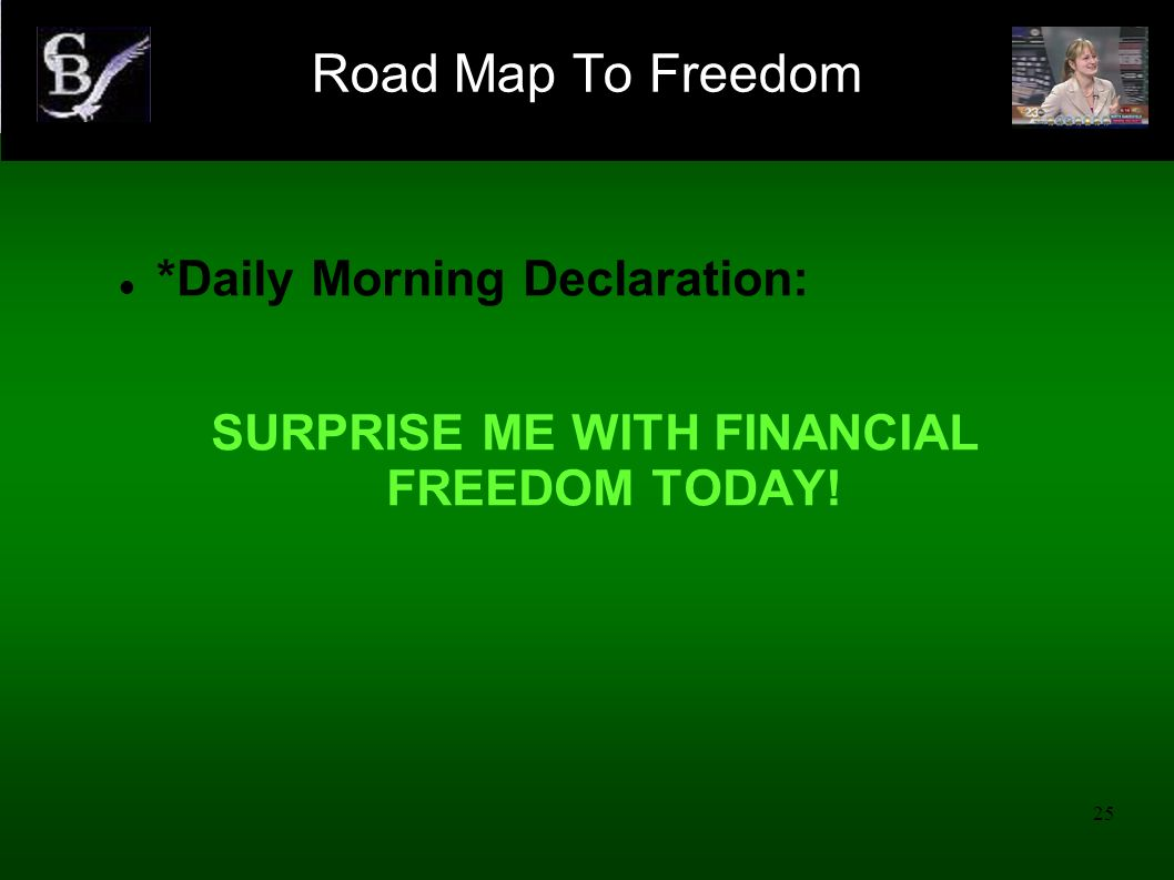 SURPRISE ME WITH FINANCIAL FREEDOM TODAY!