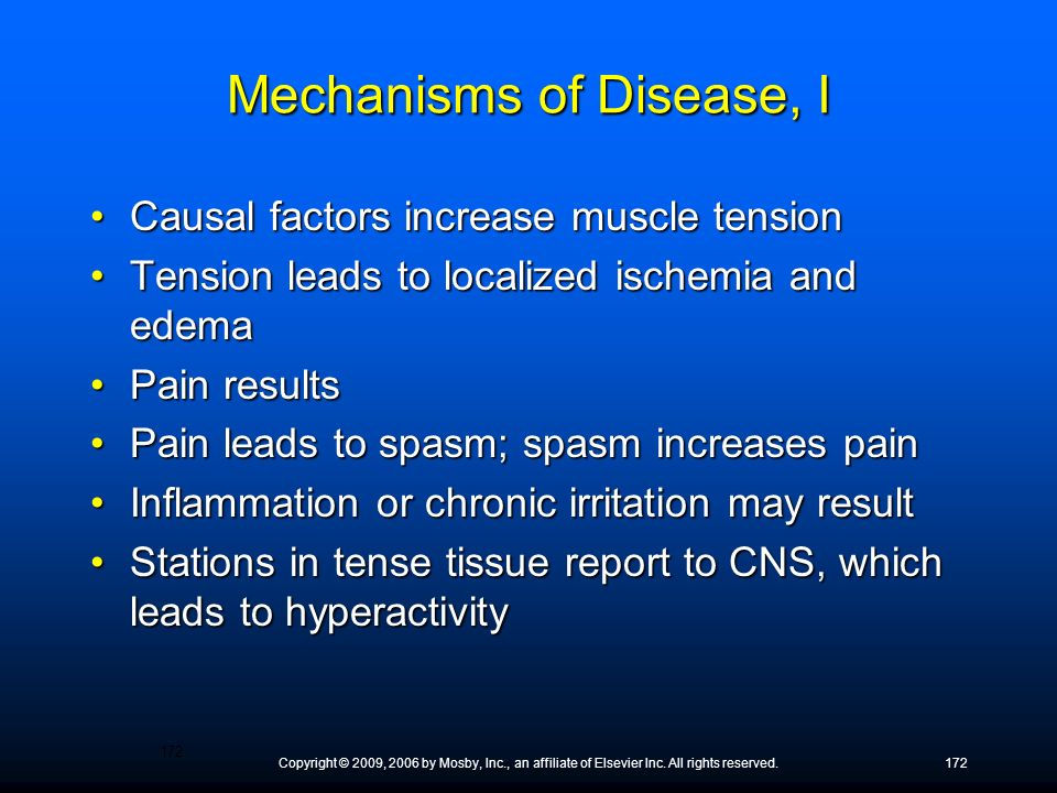 Mechanisms of Disease, I
