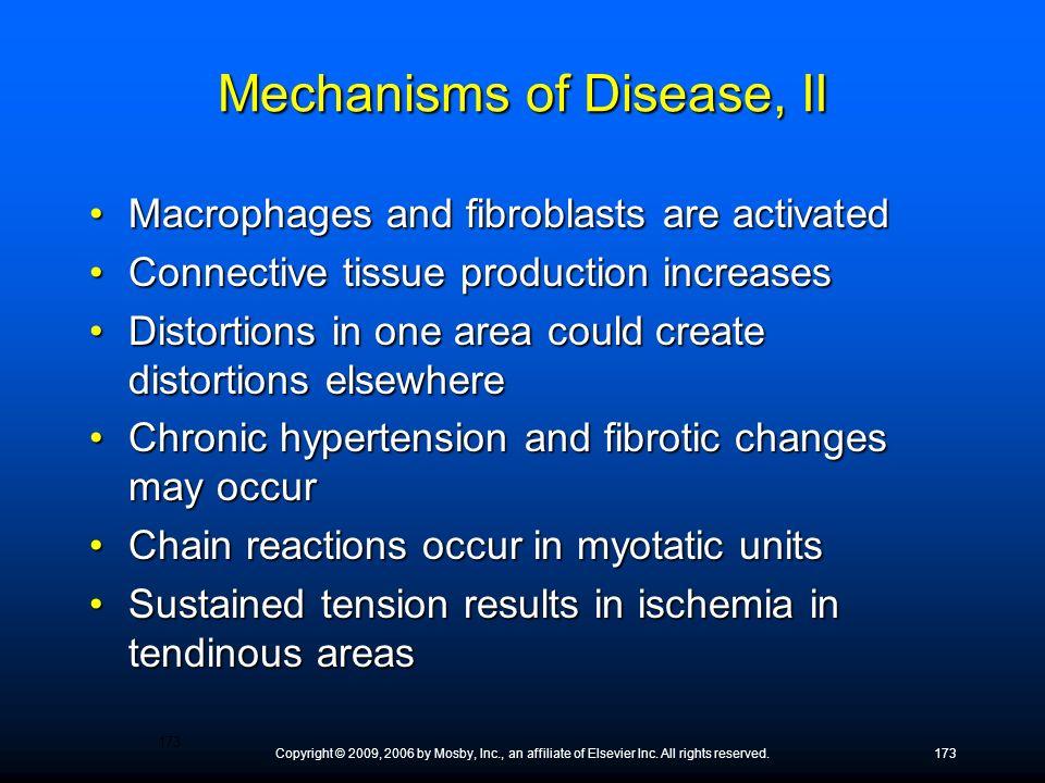 Mechanisms of Disease, II