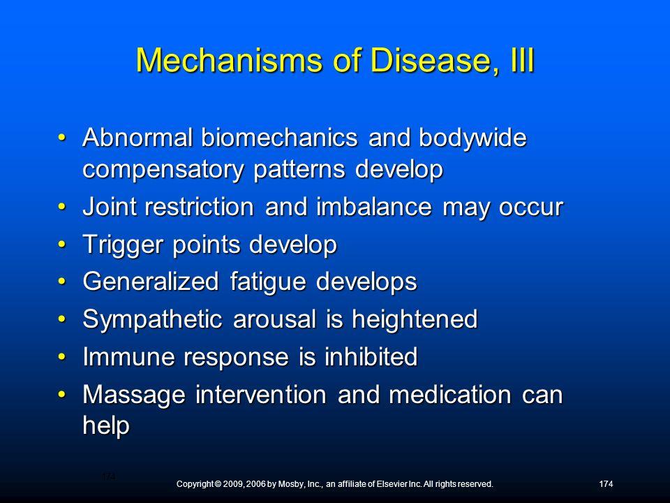 Mechanisms of Disease, III