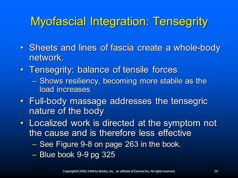 Myofascial Integration: Tensegrity