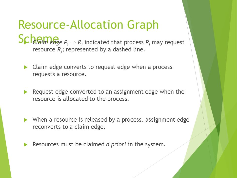 Resource-Allocation Graph Scheme