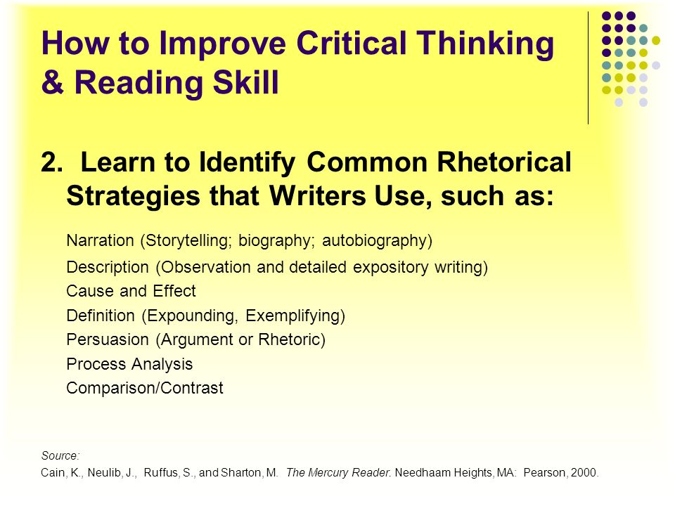 How to Improve Critical Thinking & Reading Skill