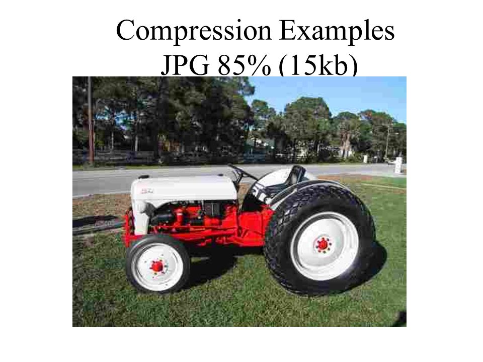 Compression Examples JPG 85% (15kb)