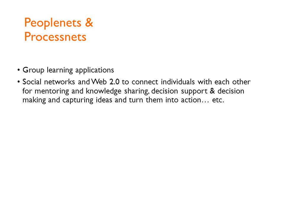 Peoplenets & Processnets
