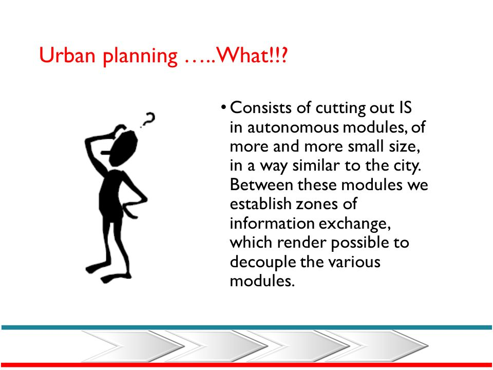 Urban planning …..What!!