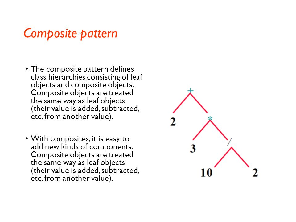 Composite pattern