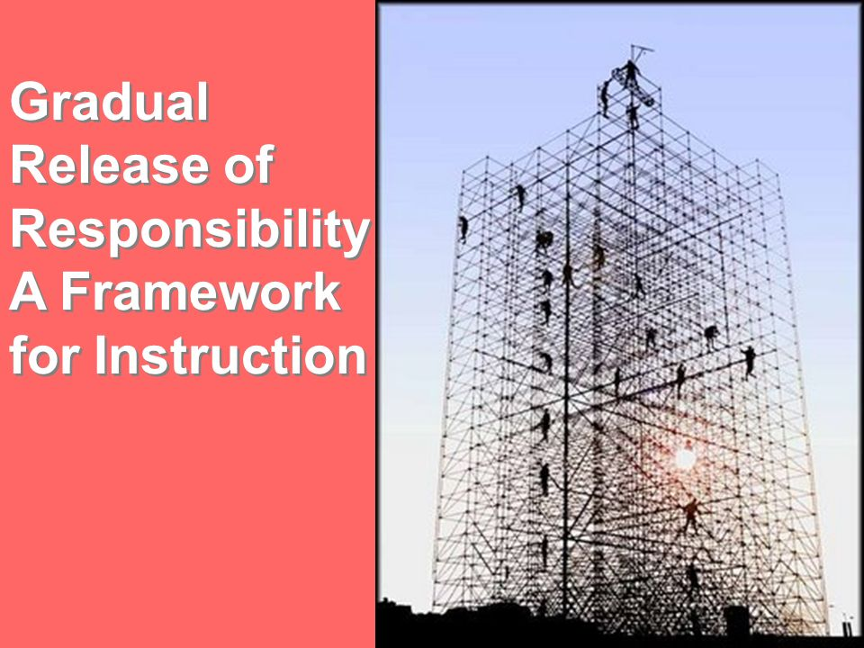 Gradual Release of Responsibility: A Framework for Instruction
