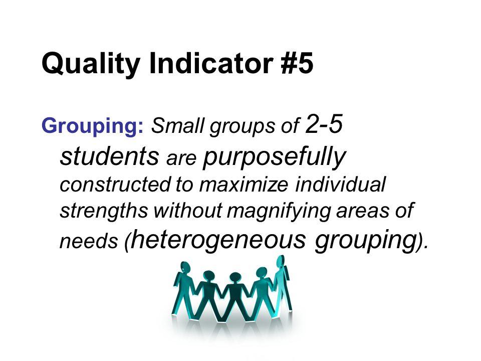 Quality Indicator #5