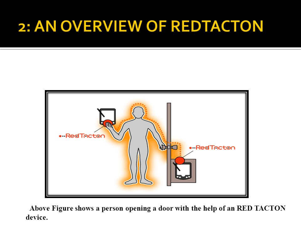 2: AN OVERVIEW OF REDTACTON