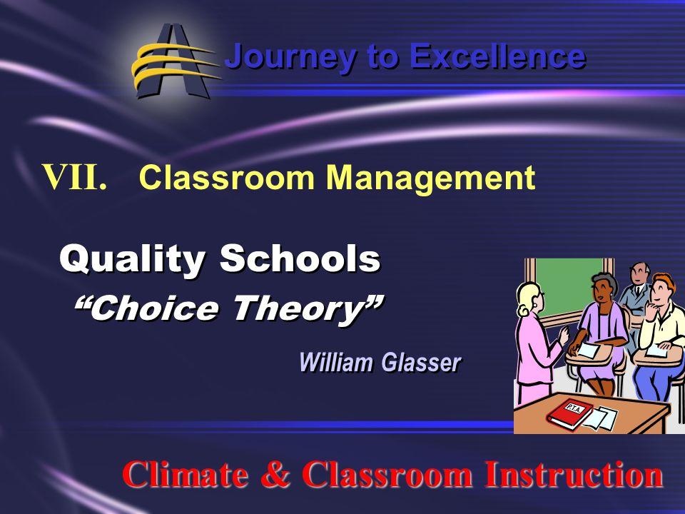 VII. Classroom Management