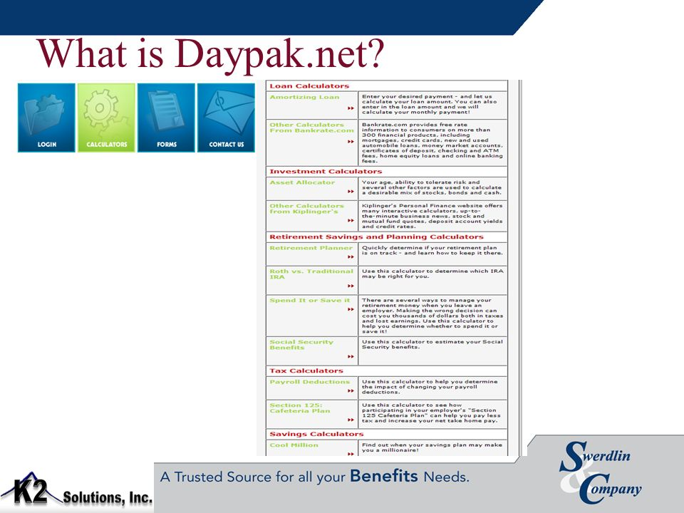 What is Daypak.net