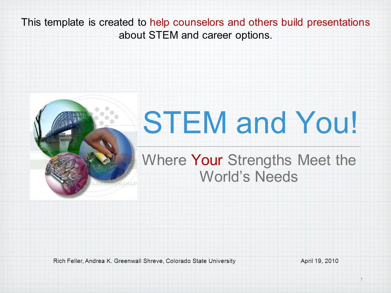 Where Your Strengths Meet the World's Needs