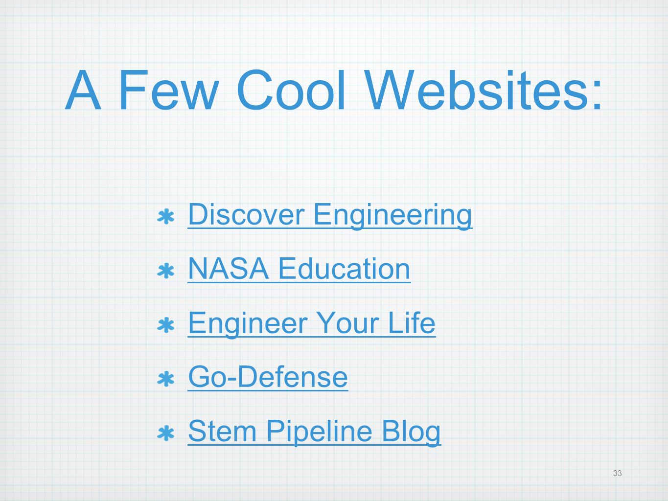 A Few Cool Websites: Discover Engineering NASA Education