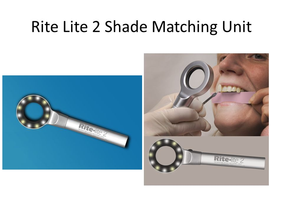 Rite Lite 2 Shade Matching Unit