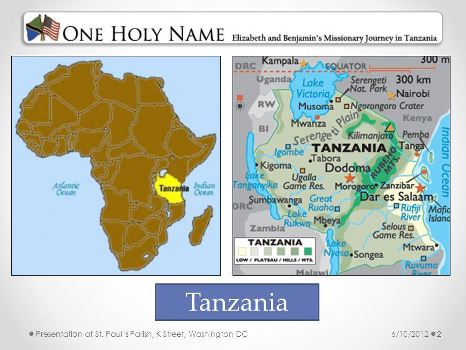 Tanzania 6/10/2012
