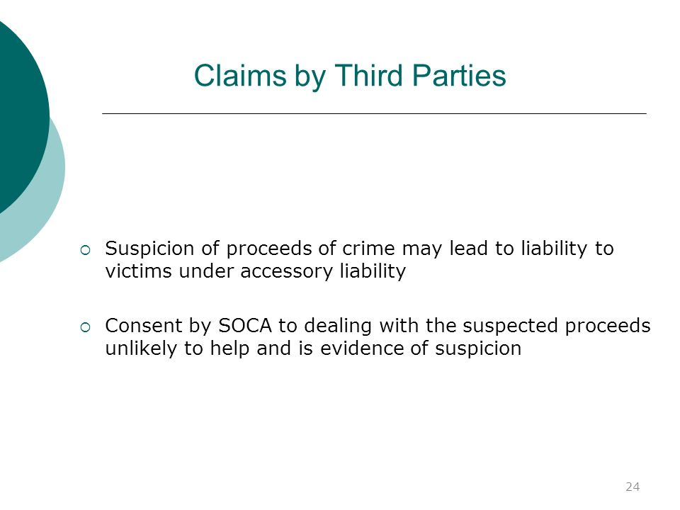 Claims by Third Parties