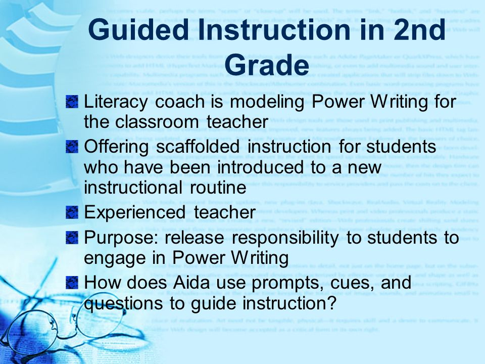 Guided Instruction in 2nd Grade