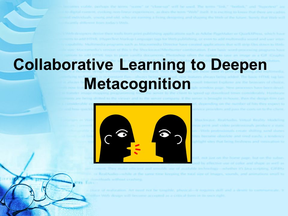 Collaborative Learning to Deepen